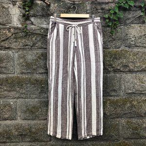 Soft Surroundings Bahama Britches Wide Leg Pants M
